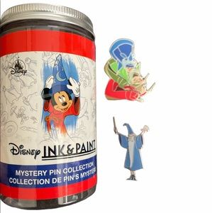 NEW DISNEY INK AND PAINT PINS (2)
